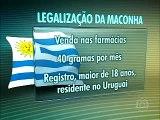 Deputados aprovam a legalização da maconha no Uruguai