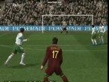 Image de 'Frappe de C. Ronaldo Sous la barre'