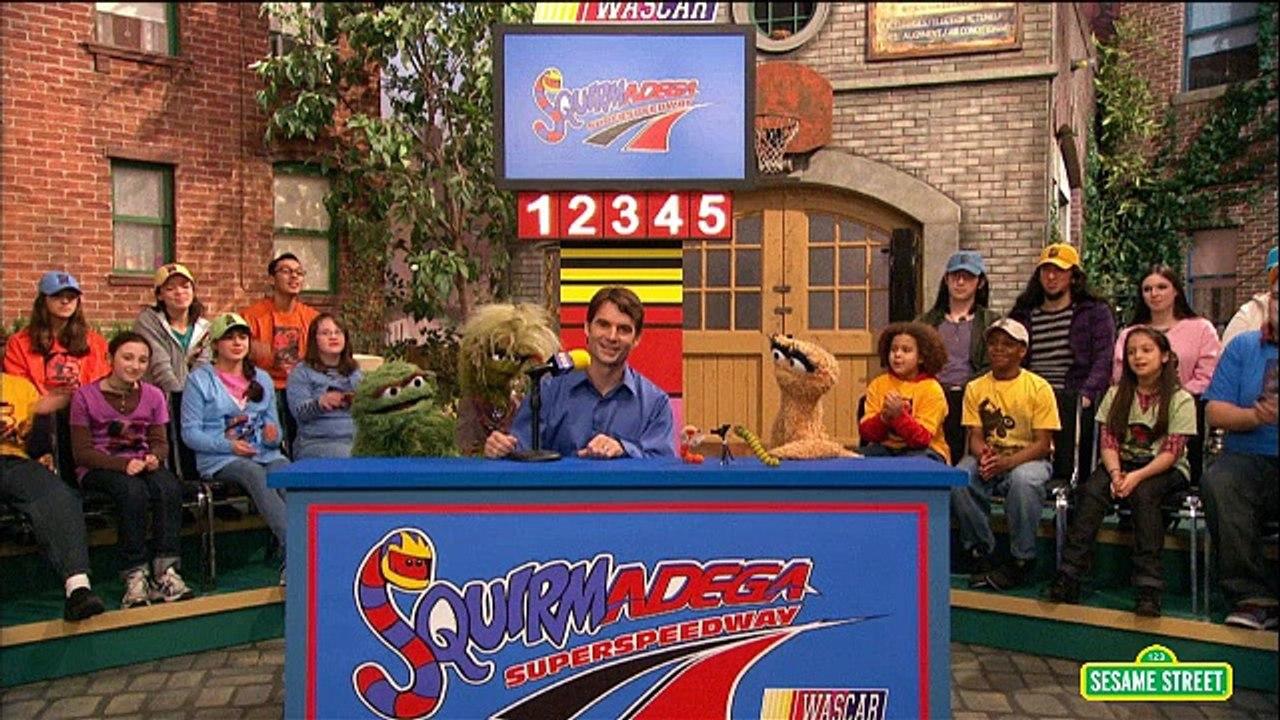 Sesame Street - Squirmadega Car Race