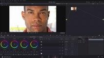 DaVinci Resolve Creative B & W and Eye Colourisation
