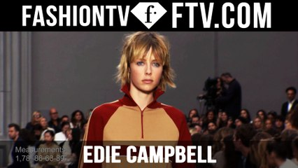 Model Talks S/S 2016 - Edie Campbell | FTV.com