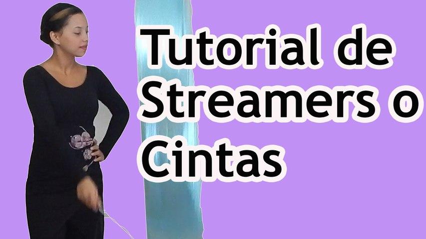 Tutorial de Streamers-Cintas Danza Cristiana (Rutinas) - Sarah Yuritza