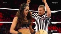 WWE Raw, 21/09/15: Brie Bella Vs Charlotte, Español - Latino
