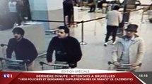 La photo des trois suspects des attentats de Bruxelles. -ZAP ACTU du 22/03/2016