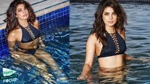 Priyanka Chopra Flaunts Cleavage In Itty Bitty Bikini
