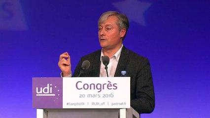 Discours de Laurent Hénart - Congrès - 20 mars 2016