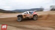 Peugeot 2008 DKR : Tour d'essai avec Stéphane Peterhansel