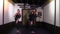 Kickboxing, Free Workout Video_ Kickboxing for Weight Loss - Full 15-Minute Fat Burning Workout
