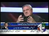 See How Hamid Mir Changed The Topic When Ex ISI Officer Started Talking About MQM