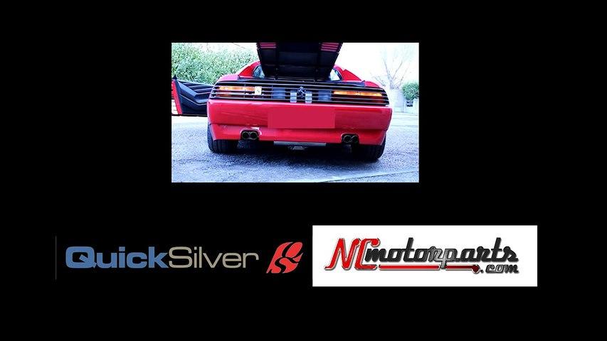 Ferrari 348 TB Quicksilver Exhausts