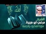 الشيخ مرضي ابو هريرة   سورة العنكبوت والجمعه