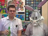 AVGN vs. Bugs Bunny (birthday blowout and crazy castle)  Bugs Bunny Cartoons