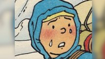 Crying Tintin becomes symbol of grief after Brussels attacks