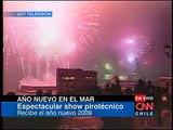 """""""Año Nuevo en el Mar"""" Valparaiso - Viña del Mar - 2009 / UCV Television y CNN Chile"""
