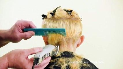 Razor Hair Cutting!