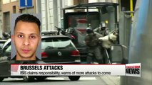 ISIS claims responsibility for Brussels attacks and warns of more terror