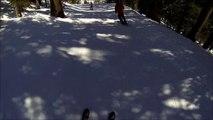 Epic ski yard sale