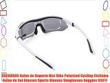 ROCKBROS Gafas de Deporte Bici Bike Polarized Cycling Ciclismo Gafas de Sol Glasses Sports