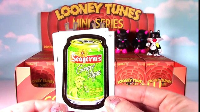 KIDROBOT Looney Tunes Full Case Blind Boxes Opening! Wacky Weds.! Bugs Bunny Tasmanian Devil  Bugs Bunny Cartoons