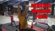 Vücut Geliştirme Hareketleri - Seated Dumbbell Shoulder Press