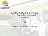 South Australia Company - Asbestos Removal Services