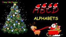 ABC songs for children with Santa Claus - Christmas Holidays Alphabet