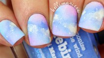 DIY PASTEL GALAXY NAIL ART TUTORIAL _Galaxy Nail Art - Diy Easy Galaxy Nail Art Tutorial