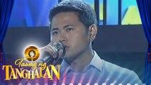 """Tawag ng Tanghalan: Ed Silver Ramos - """"Cry Me A River"""""""