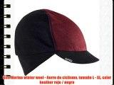 Giro Merino winter wool - Gorro de ciclismo tamaño L - XL color heather rojo / negro