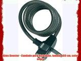 Abus Booster - Candado para bicicletas tamaño 180 cm color negro