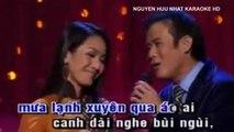 Karaoke LK Mưa Nửa Đêm Mưa Đêm Ngoại Ô Tuấn Vũ Mỹ Huyền