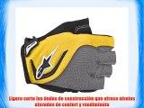 Alpinestars Pro - Guantes de ciclismo tamaño S color amarillo