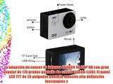 PHONECT ELE Explorer 1050mAh WIFI Aliwinner V3 2.0 Pulgadas TFT LCD 4K 16MP Impermeable Cámara