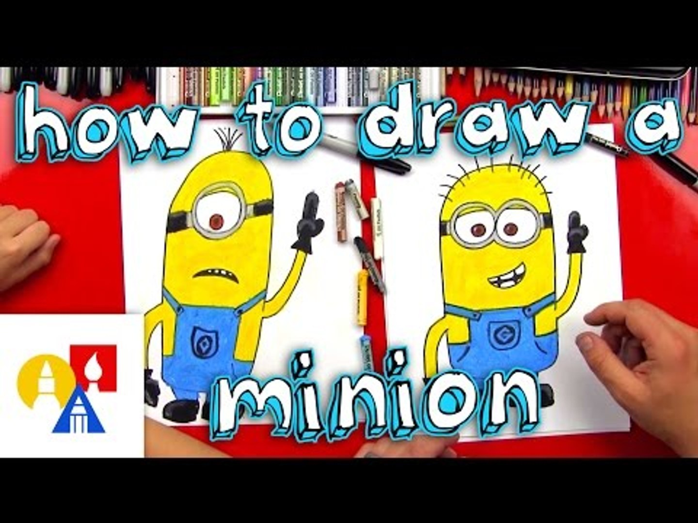 How To Draw A Minion Video Dailymotion