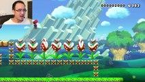 HAPPY WHEELS DANS MARIO MAKER! | Super Mario Maker FR #79