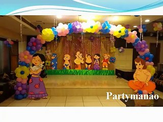 Chota Bheem Theme Party Ideas