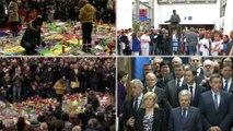 La Belgique a observé une minute de silence pour rendre hommage aux victimes des attentats