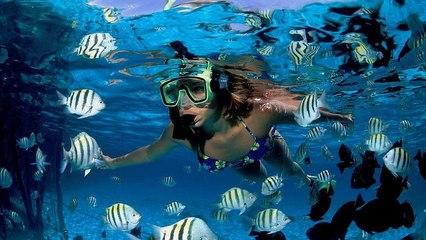 "KEKINIAN TRAVEL - ""Dancing With Fish"" Snorkeling at Tidung Island (Pulau Tidung) by @lismarizkia"