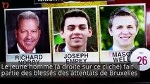 Il sort miraculé des attentats de Boston, Paris et Bruxelles