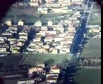 CAPACCIO VISUALE DA UN BOING 757 SUPERTELESCOPIO LUNARE SU RETTIFILO DI CAPACCIO