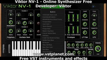 Free Online Synthesizer - Viktor NV-1
