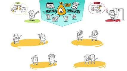 Dessine-moi l'éco - Le revenu universel