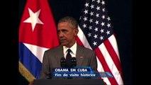 Obama faz discurso histórico no último dia de viagem a Cuba