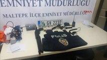 Sahte Polis Polis Uygulamasında Yakalandı