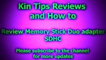 Review Memory Stick Duo Adapter 2 slot PSP Sony Playstation Portable SDHC