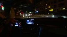 2015 Mercedes C Class W205 Night Ride Drive Driving Sony Test DSC HX 50 Camera