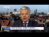 """Didier REYNDERS : """"La belgique plus forte que les terroristes"""""""