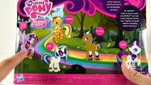 BIG My Little Pony Toy Haul Unboxing Fashion Style Ponies Water Cuties Princess Cadance ML