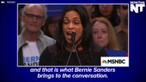 Rosario Dawson Delivers Passionate Introduction For Bernie Sanders