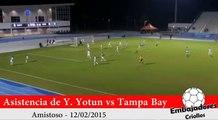 Asistencia de Yoshimar Yotun vs Tampa Bay Rowdies